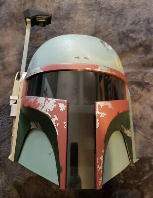 Hasbro Star Wars Boba Fett Voice Changer Helmet complete with Antenna SW ESB lot