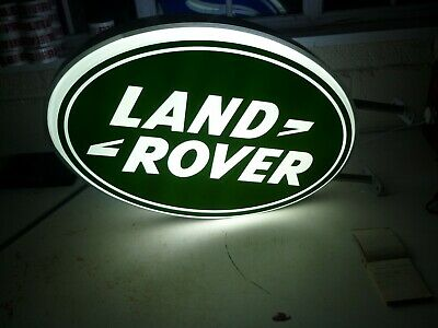 Land Rover Double Sided Illuminated Sign Garage Dealership 90 110 Off Road 80