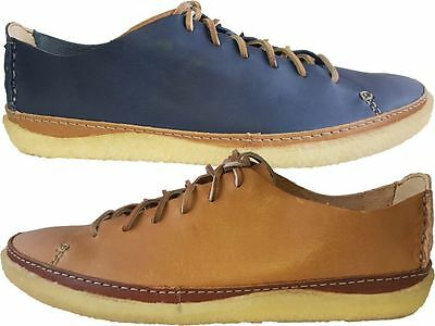 Clarks Originals M ** VULCO GUIDE **  BLUE COMBI LEA **  UK 6,7,8,9,10,11,12 G