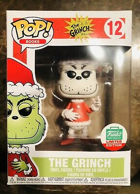 Funko Pop! The Grinch 12 Black & White Dr. Seuss 12 Days of Christmas