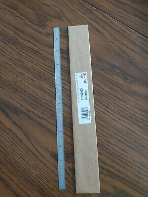 "New Starrett C305R-12 Full Flexible Steel Rule 12"" Scale"
