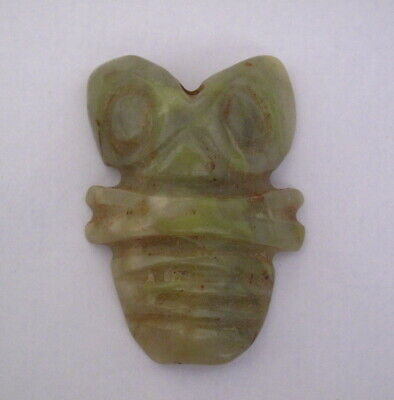 Old Chinese Hongshan Culture Jade Hand Carved God Beast amulet Pendant