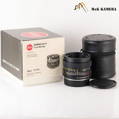 Leica Summilux-R 50mm/F1.4 E55 Ver.II V2 Lens Yr.1986 Germany #116