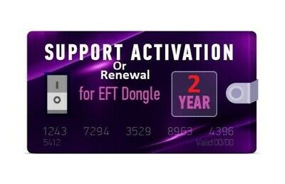 EFT Dongle 2 years Support Activation/Renewal - Fast Service-