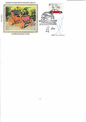 Sir Stirling Moss/JOHN SURTEES Hand SIGNED FIRST DAY COVER 1982