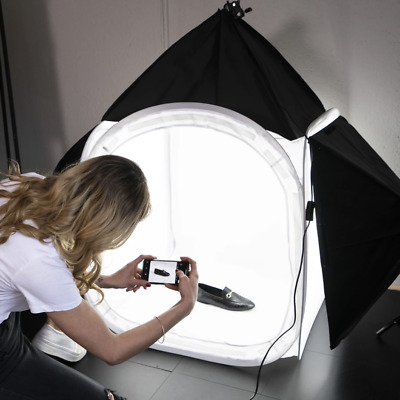 "Hypop 31"" Product Photography Lighting Tent 'KONTENT KUBE' Kit"