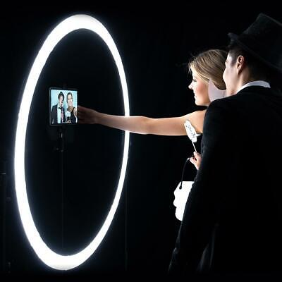 "Giant Wedding & Events 47"" LED Ring Light Photobooth Kit - Aurora Max"