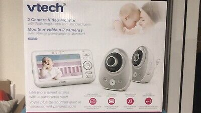 VTech® VM352-2 5-Inch Digital Video Baby Monitor with Pan and Tilt Cameras