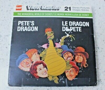 Pete's Dragon Viewmaster Reels Set H38 1977 Rare  X230