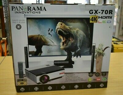 Panorama Innovations Gx-70R HDMI 4K LED Projector