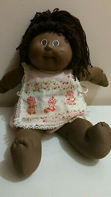 . Vintage african american cabbage patch doll 1984