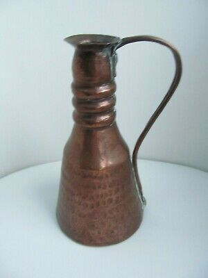 Antique Arts & Crafts Copper Jug