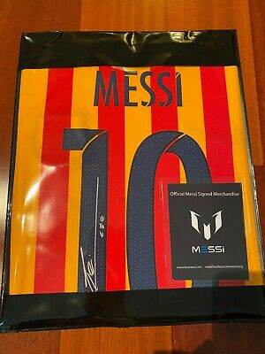 Lionel Messi Signed Barcelona Jersey - ICONS