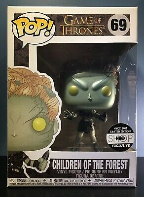 Funko POP! Game of Thrones #69 - Children of the Forest Metallic - HBOShop - NM