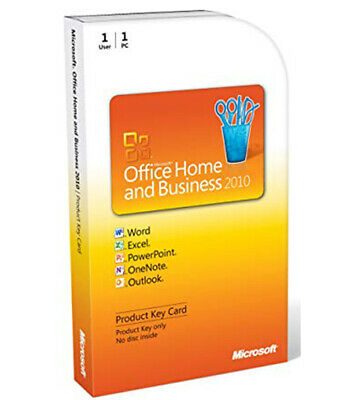 Microsoft Office Home and Business 2010 *PRICE DROP