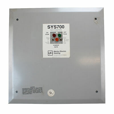Marley Electric Heating Sys700 Electric Storage Heating Control Panel