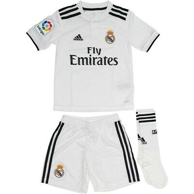 ADIDAS NEONATO E Bambino Real Madrid Home Mini Kit EUR 45