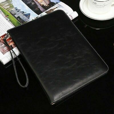 """Genuine Luxury Leather Smart Case Cover for iPad 9.7 10.5 11 12.9"""" Air Pro 2018"""