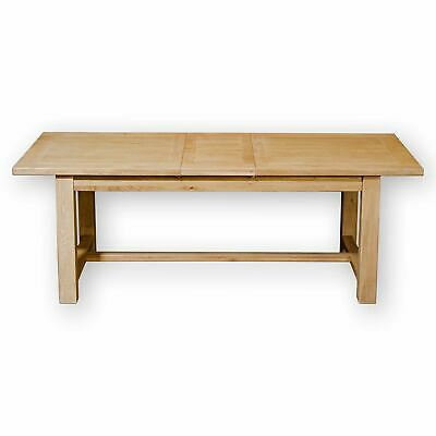 Arts & Crafts Cotswold School Large Oak Extending Dining table