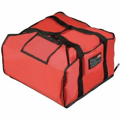 """Rubbermaid ProServe® Red Nylon Large Pizza Delivery Bag - 21 1/2""""L x 19 3/4""""W x"""