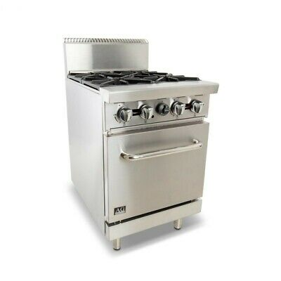 AG 4 Burner Stove with Oven AG Equipment|