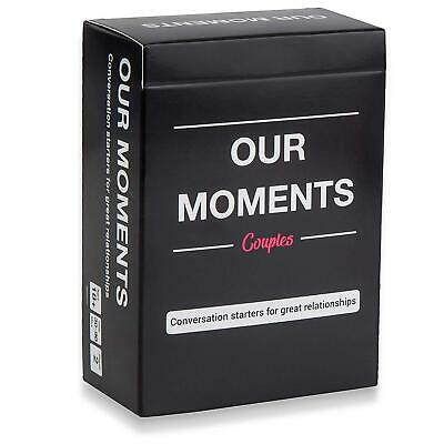 OUR MOMENTS Couples: 100 Thought Provoking Conversation Starters 😍Free Shipping