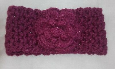 Brand New Baby Girls Hand Knitted Hair Band