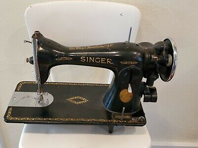 1941 WWII SINGER SEWING MACHINE MODEL 15-91 COLLECTOR/No Foot Pedal