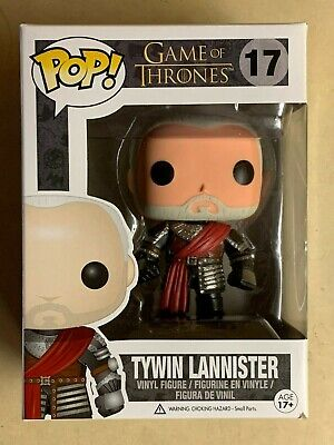 Funko POP Retired/Vaulted RARE Silver Armor Tywin Lannister Game of Thrones #17