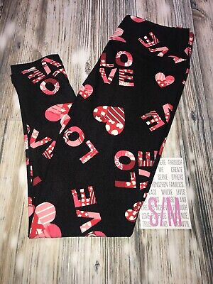 New Lularoe Size S/M Valentine's Day Leggings ❤️