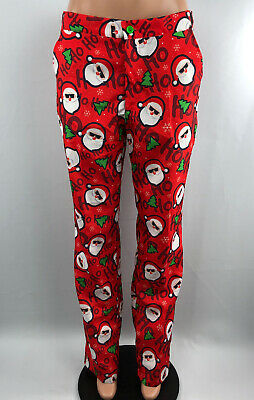 Men's Suitmeister Ugly Christmas Santa Pant M L XL Red Holiday Costume Suit NEW