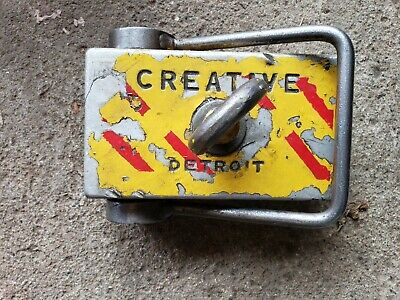 Lifting Magnet - Creative Detroit Industrial Lifting Magnet