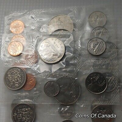 1968 Canada Prooflike 6 Coin Set No Envelope - Multiple Available #coinsofcanada
