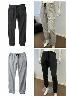 Volcom Mens Fleece Track Pants Trackies Trackpants -Dark Blue - Size S - 2XL