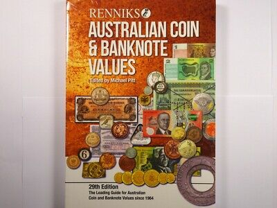 Renniks Australian Coin and Banknote Values Book 29th Edition