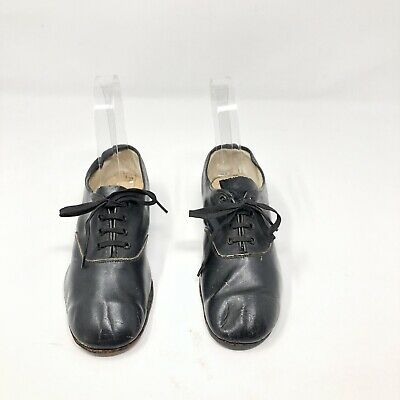 Antique Vintage Leather Childs Shoe 12