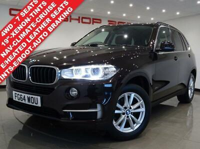 2014 64 Bmw X5 3.0 Xdrive30D Se 5Dr Auto (254 Bhp) 7 Seats (S/S)..Nav..leather