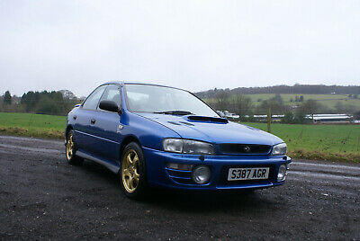 "Subaru Impreza turbo Ltd edition ""Terzo"" car number 276, stunning, 78444 miles."