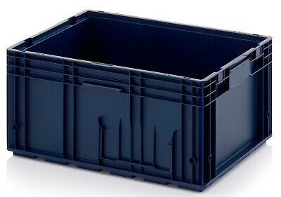 "Heavy Duty Plastic Containers 600 x 400 x 280mm  ""40 containers"""