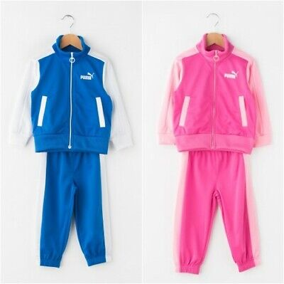 Puma Children Infant Jogger Tracksuit Jacket Trousers