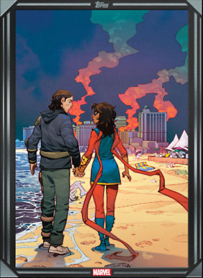 2020 COMIC BOOK DAY SILVER MAGNIFICENT MS.MARVEL #12 Topps Marvel Collect