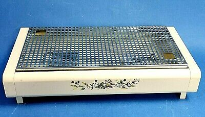 Brabantia Table Top Food Warmer Heater Candle Heating + Snuffers Harvest Pattern
