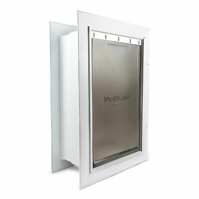 NEW PetSafe Wall Dual Entry Telescoping Pet Door for Dogs - Large Med Small