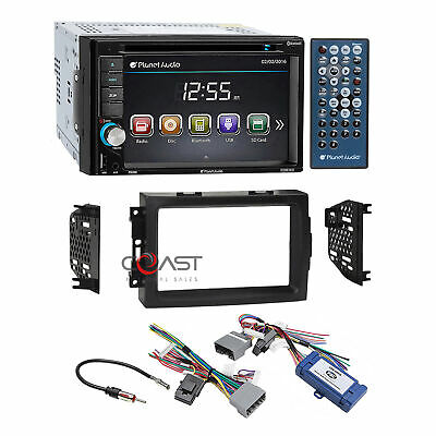 Planet Audio Car Stereo Dash Kit Harness Interface for 07 Chrysler Dodge Jeep