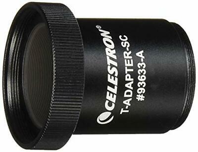 Celestron T-adapter for all Schmidt-Cassegrains, Threads onto Rear Cell. #93633A