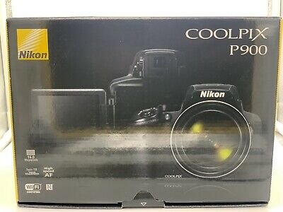 New Nikon COOLPIX P900 Digital Camera with 83x Optical Zoom Built-In WiFi