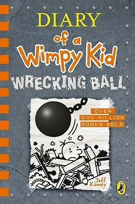 Diary of a Wimpy Kid: Wrecking Ball (Book 14) - New Hardcover gift Book Kids