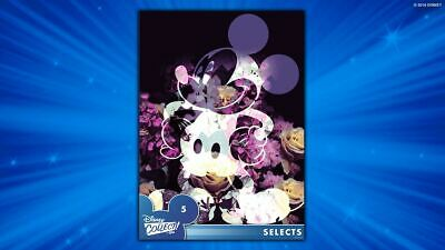 SELECTS #5 MICKEY MOUSE Topps Disney Collect Digital Card