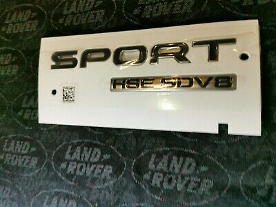 Genuine New Range Rover Sport Hse L494 Sport Autobiography Boot Tailgate Badge