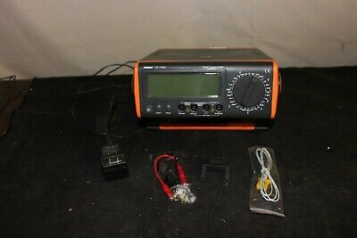 TENMA 72-1055 Bench Digital Multimeter With Accessories